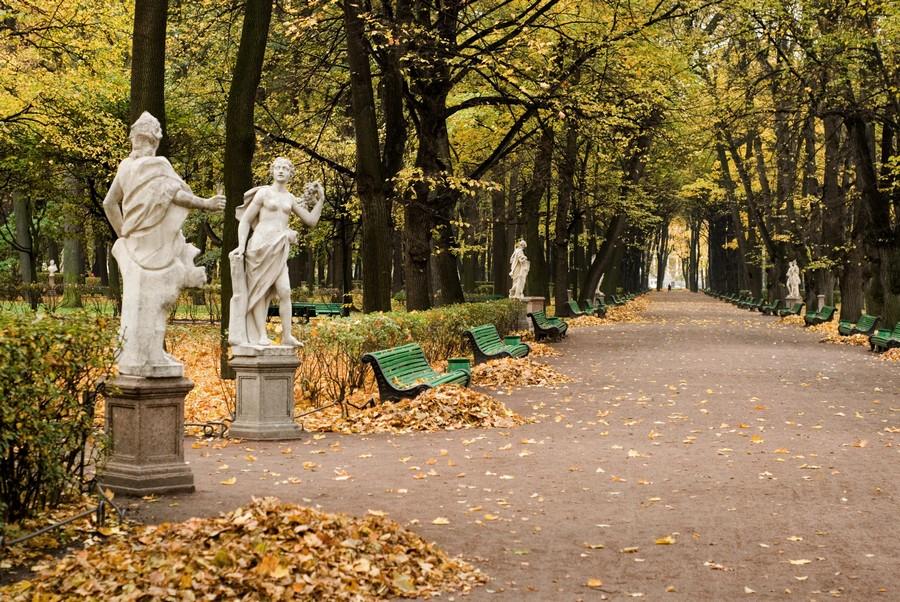 фото летний сад петербург